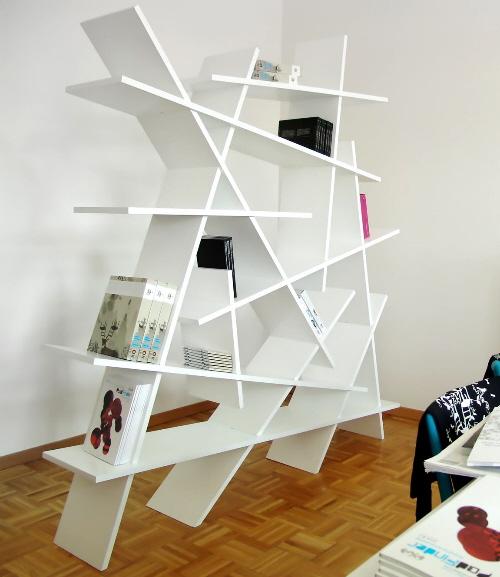 Beyaz Kitaplık Modelleri