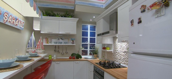 Açık Renk Mutfak