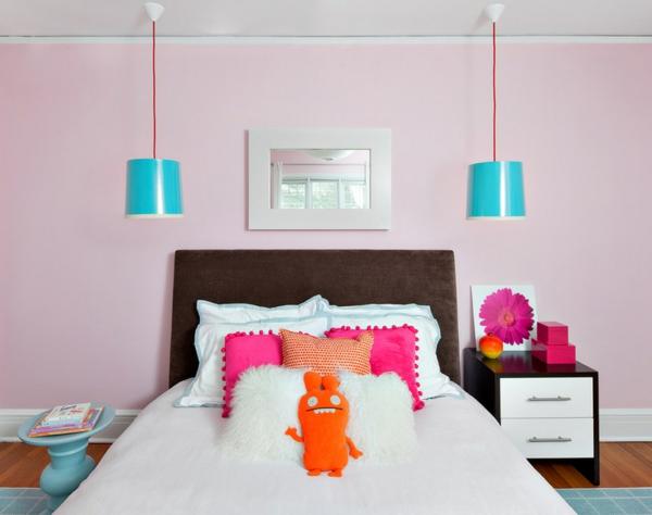 pink-yatak-odasi