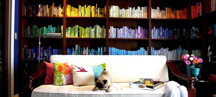 Renkli Kitaplık
