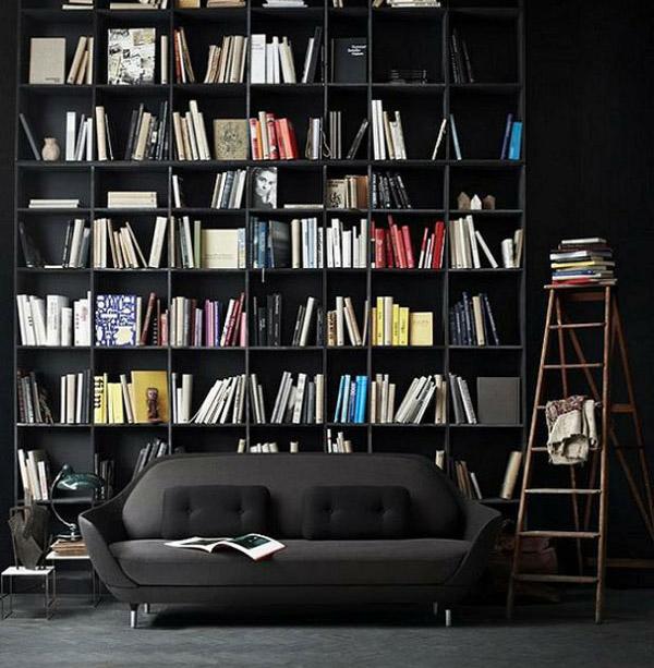siyah kütüphane