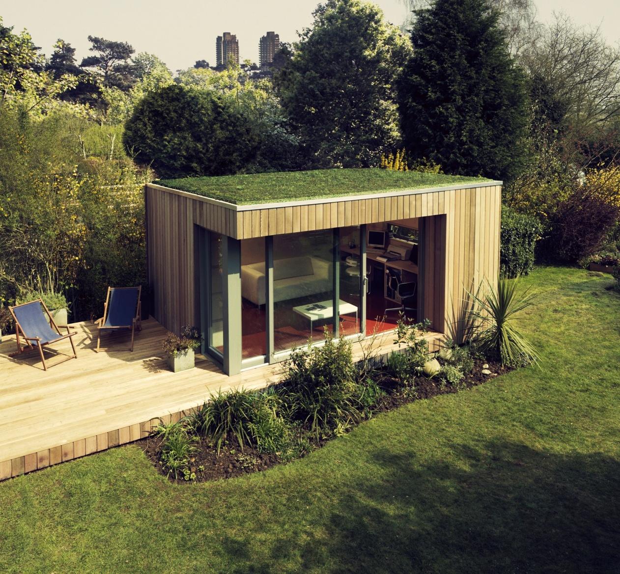 Home Office And Studio Designs: Bahçe Dekorasyonu İle Renkli Dünyalar