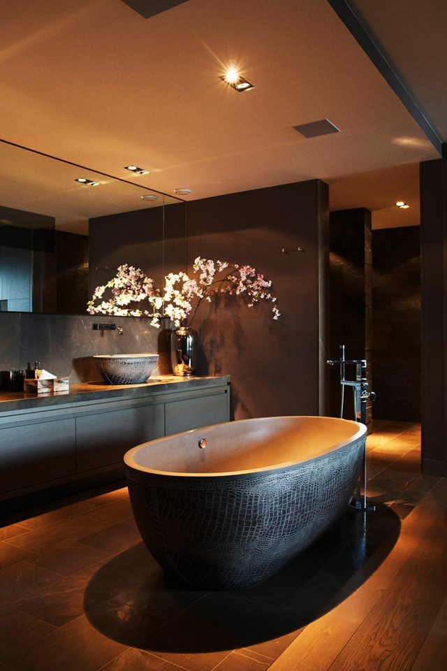 lüks-banyo-dekorasyonu