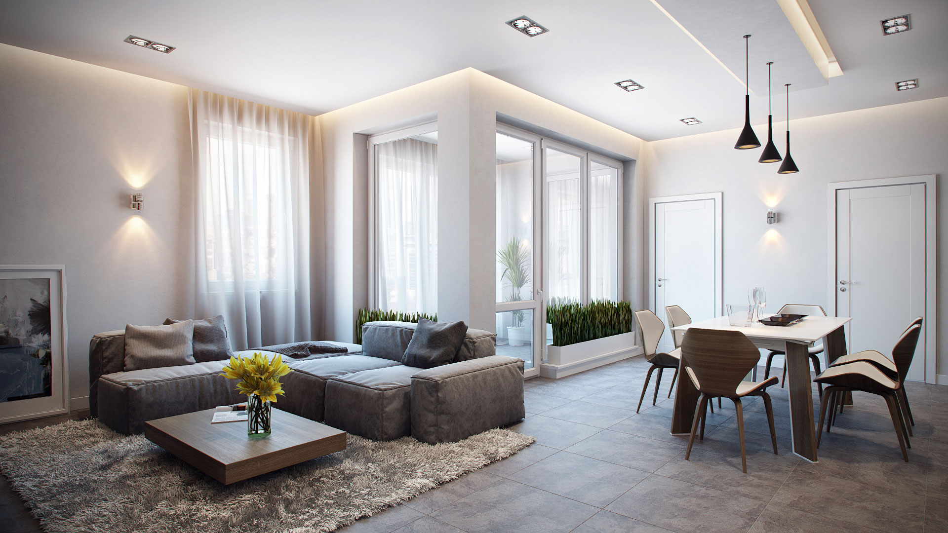Ev dekorasyonlar n yapma - Impeccable modern house architecture with playful interior design ...