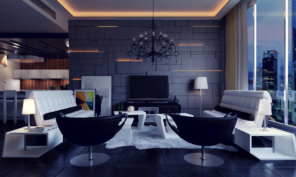 siyah-ev-mobilyaları