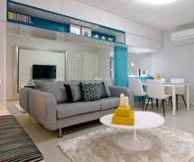 Bir arti Bir Evlerin Mobilya Dekoru